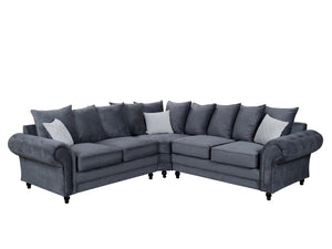 NEW Roma Corner Sofa Range - Various Colours