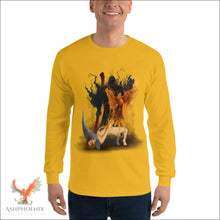 Load image into Gallery viewer, Soul Of A Phoenix Long Sleeve T-Shirt - Gold / S