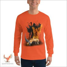 Load image into Gallery viewer, Soul Of A Phoenix Long Sleeve T-Shirt - Orange / S