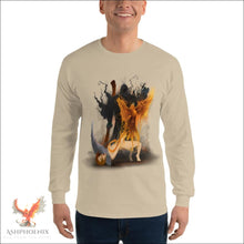 Load image into Gallery viewer, Soul Of A Phoenix Long Sleeve T-Shirt - Sand / S