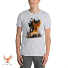 Load image into Gallery viewer, Soul Of A Phoenix T-Shirt - Sport Grey / S