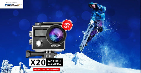 campark action camera for adventure