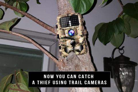 To Catch a Thief - Use a Security Trail Camera