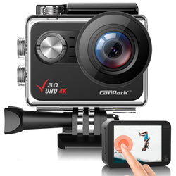 Campark V30 Native 4K 20MP EIS Touch Screen WiFi Action Camera