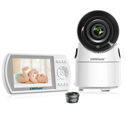 Campark BM30 3.5 inch Screen Wireless Baby Monitor with Camera