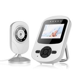"Campark Video Baby Monitor with Camera Infant Optics Digital Cam with Infrared Night Vision 2.4"" LCD"
