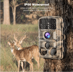 Campark T45A Upgrade Waterproof Trail  Camera 16MP 1080P Hunting Game Camera