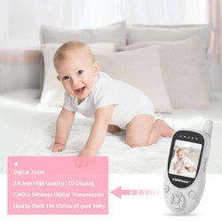 Campark BM20 Video Baby Monitor 360° Rotatable Digital Camera