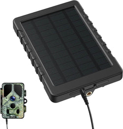 Campark BC179 Trail Camera Solar Panel 3000mAh Solar Power Bank