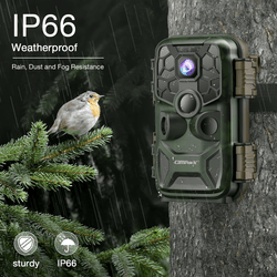 Campark T90 WiFi Trail Camera 4K Lite 24MP Bluetooth Game Camera with Night Vision Motion Activated Hunting Camera