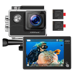 Campark X15 4K Action Camera 16MP EIS Anti-shake Wifi Camcorder with Touch Screen
