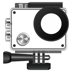 Campark Action camera waterproof case parts and remote control