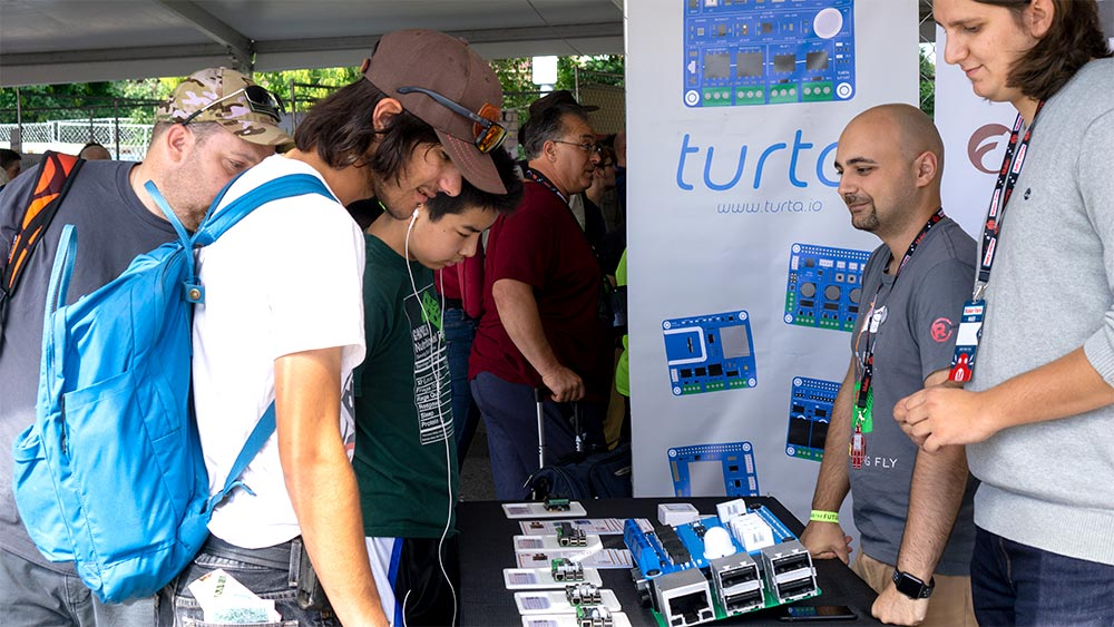Turta at Maker Faire