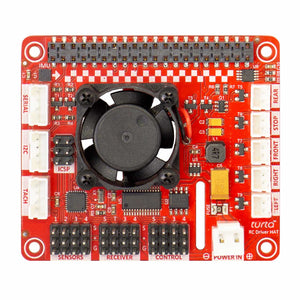 RC Driver HAT for Raspberry Pi