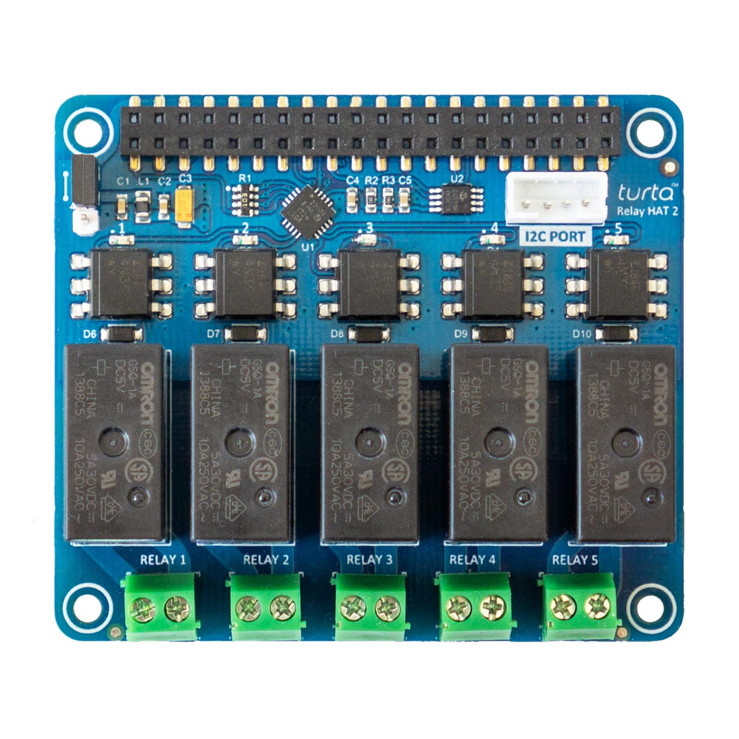 Relay HAT 2 for Raspberry Pi