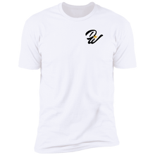 Load image into Gallery viewer, DaWinners Black F&B Logo Tee