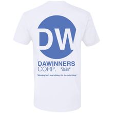 "Load image into Gallery viewer, DaWinners Corp ""Puff Print"" Logo Tee (Blue)"