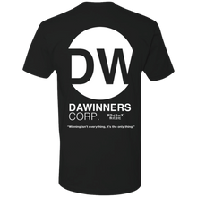 "Load image into Gallery viewer, DaWinners Corp ""Puff Print"" Logo Tee (Black)"