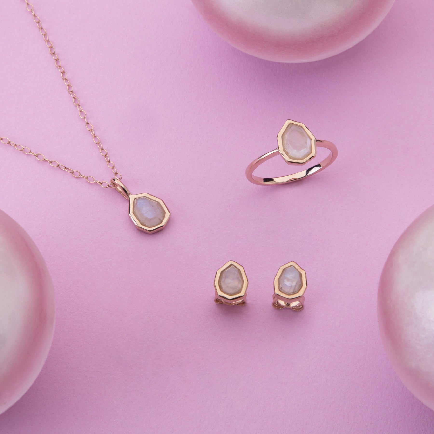 Moonstone Jewelry | Moonstone rings, earrings & necklaces