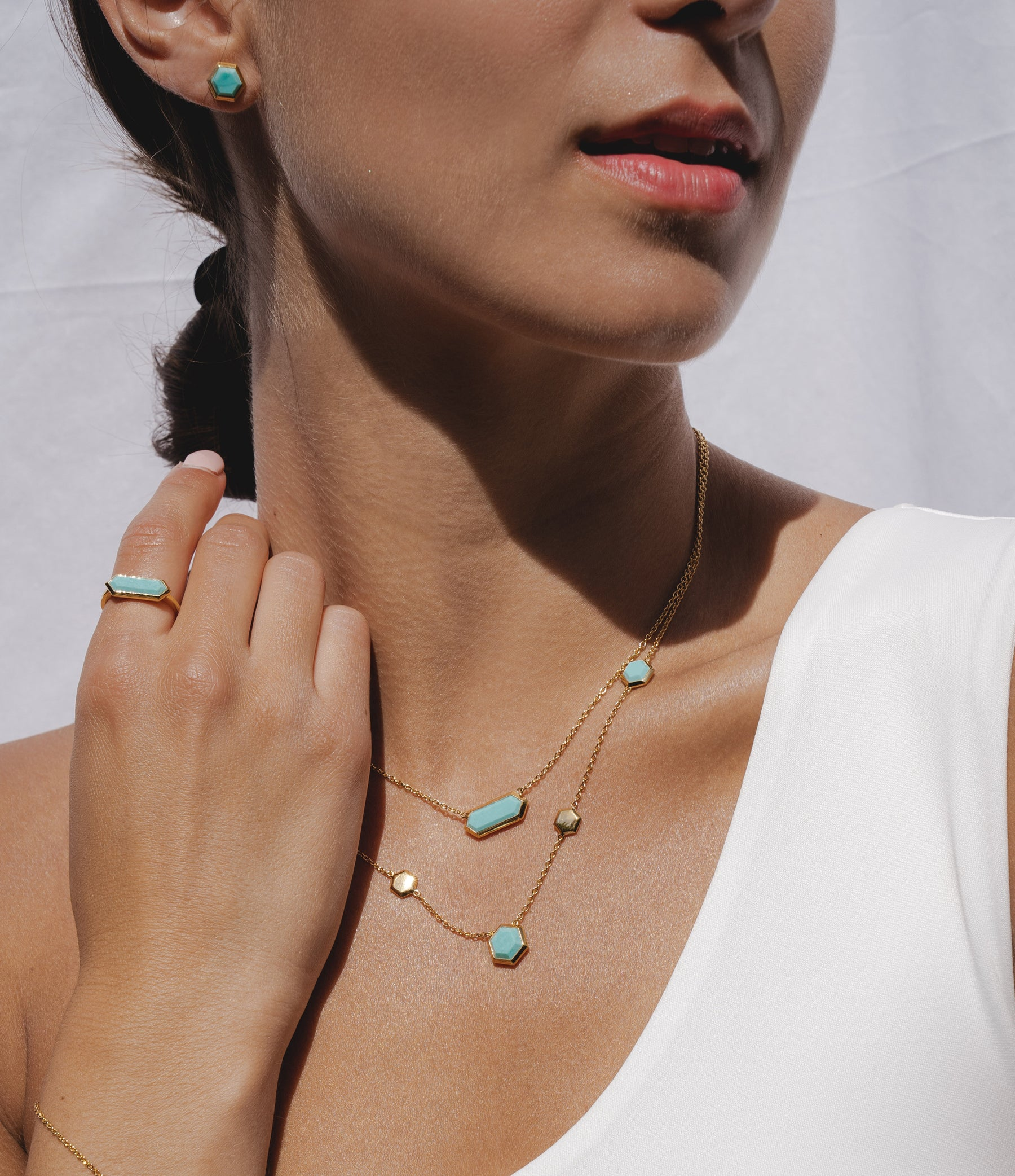 Turquoise jewelry | Turquoise rings, earrings, necklaces & bracelets