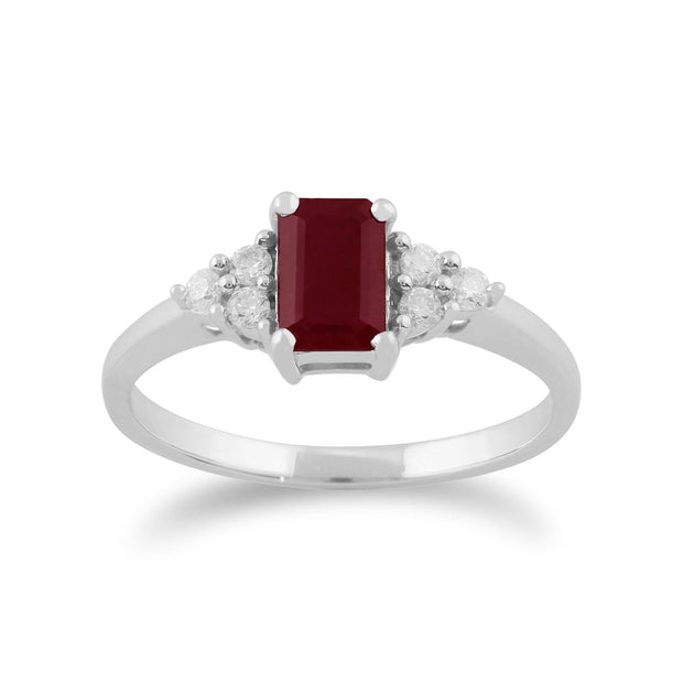 Ruby & Diamond Ring Image 1