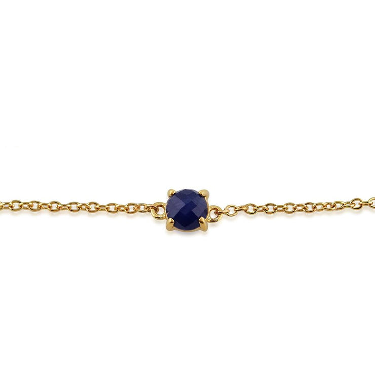 Classic Sapphire Checkerboard Bracelet Image 1