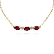 Classic Ruby and Diamond Bracelet Image 1