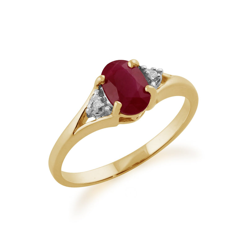 Ruby and Diamond Ring Image 2