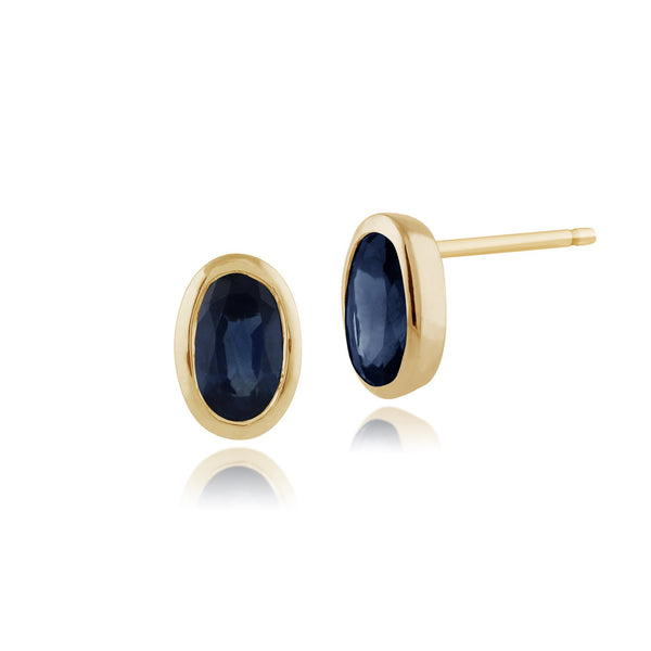 Classic Sapphire Stud Earrings Image 1