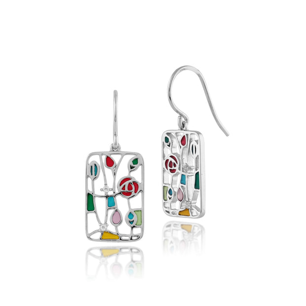 Rennie Mackintosh Topaz Drop Earrings Image 1