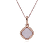 Geometric Sugarloaf Rose Quartz Prism Image 1