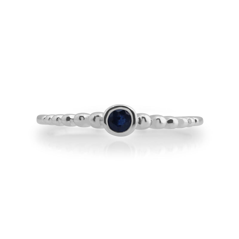 Essential Sapphire Stack Ring Image 2