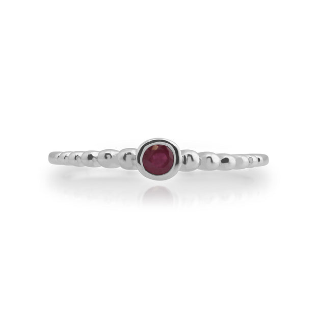 Essential Ruby Stack Ring Image 2