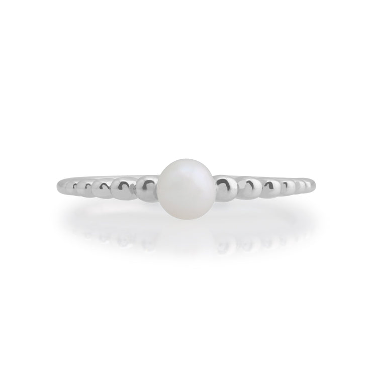 Essential Pearl Stack Ring Image 2