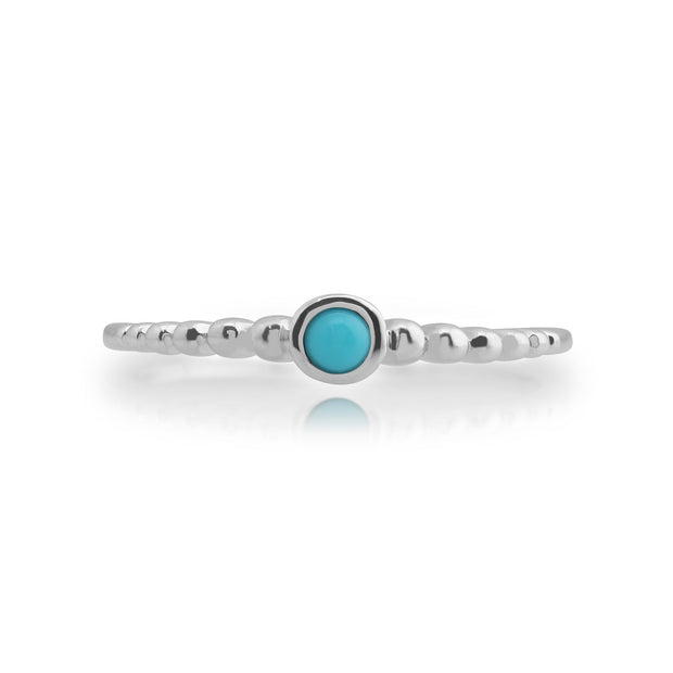 Essential Turquoise Stack Ring Image 2