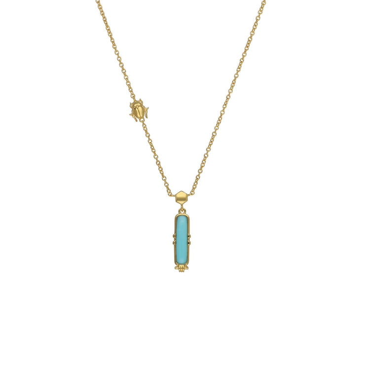 Turquoise Talisman Necklace