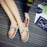 Thong Slip-On Buckle Flat With Casual EVA Slippers