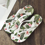 Slip-On Flat With Print Thong PVC Summer Slippers