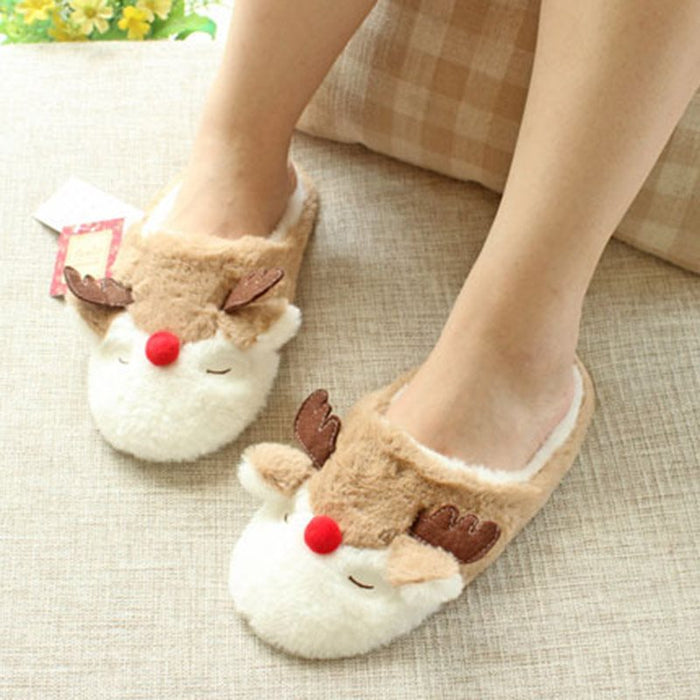 Animal Fall Home Slippers
