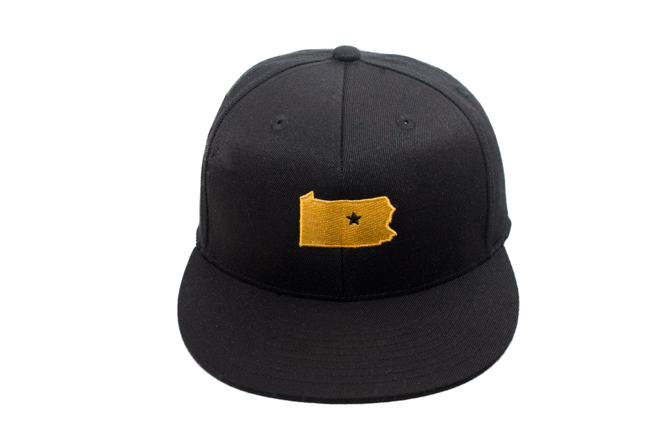 Black & Gold Classic Collection Cap
