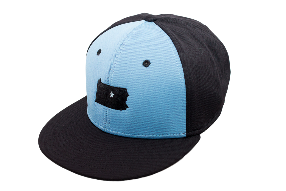 Black & Blue Panel Collection Cap