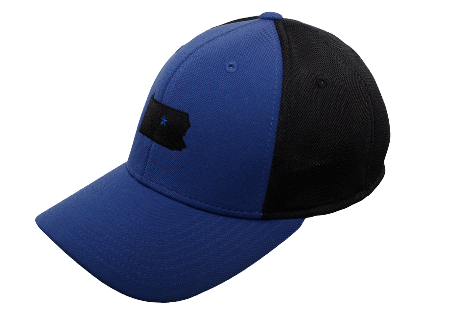 Black & Blue Dad Collection Cap