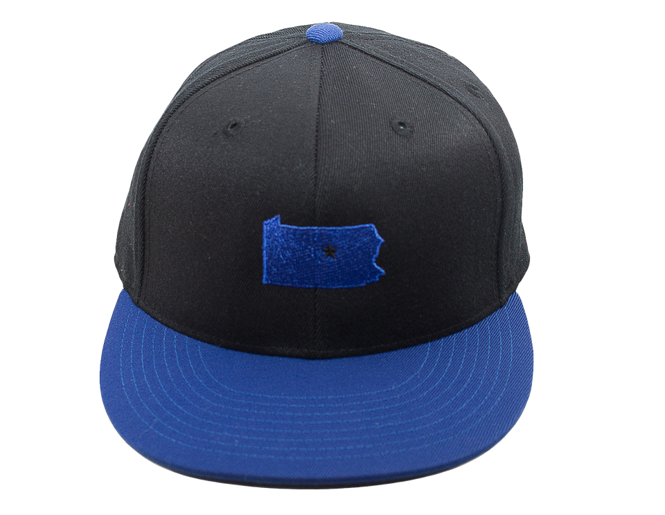 Black & Blue Dual Collection Cap
