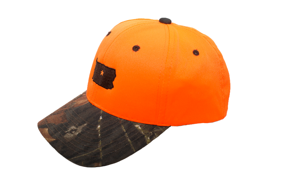Hunter Orange Sportsman Collection Cap