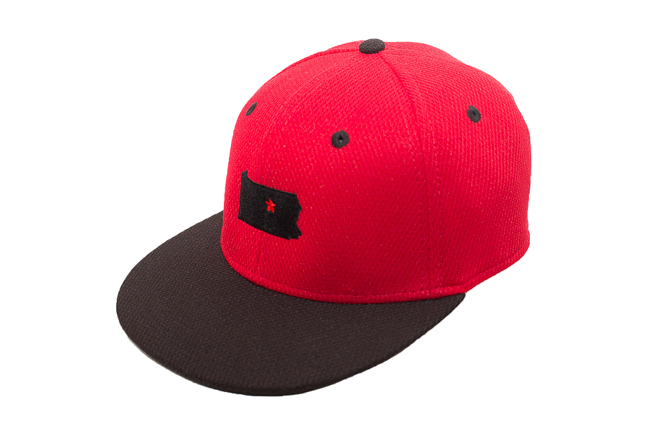 Red & Black Dual Collection Cap