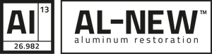 AL-NEW Aluminum Restoration Solution is the best way to clean aluminum.