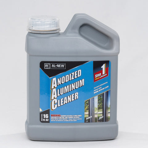 al-new anodized aluminum cleaner