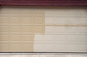 ALNEW cleans and restores garage doors to their original shine and luster.