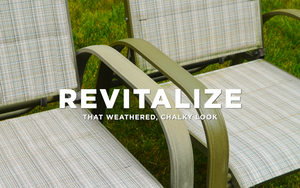 AL-NEW is the best way to clean your outdoor patio furniture.
