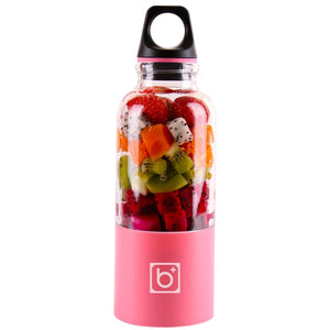 Portable smoothie/juice bottle blender USB rechargeable